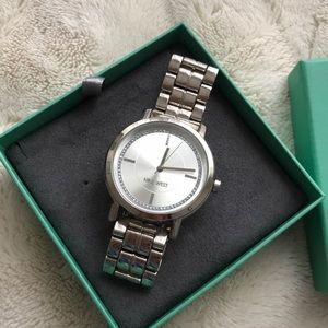 Nine West silver watch